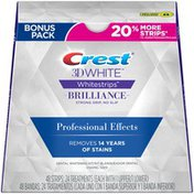 Crest 3D White Whitestrips Professional Effects 48 pc Dental Whitening Kit