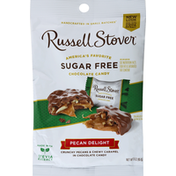 Russell Stover Chocolate Candy, Sugar Free, Peanut Delight