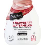 Signature Kitchens Liquid Water Enhancer, Strawberry Watermelon