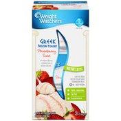 Weight Watchers Greek Strawberry Swirl Frozen Yogurt