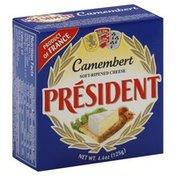 President Cheese, Soft-Ripened, Camembert