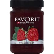 Favorit Preserves, Swiss, Strawberry