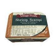 Francetown Village Foods Shrimp Scampi Over Fettuccine