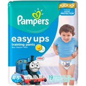 Pampers Easy Ups Training Pants Boys Size