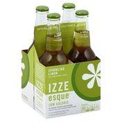 Izze Juice Beverage, Sparkling Limon