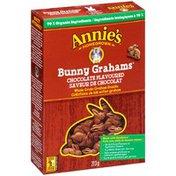 Annie's Canadian Chocolate Bunny Grahams Whole Grain Graham Snacks Bunny Grahams