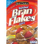 Best Choice Enriched Bran Flakes Cereal