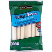 Best Choice Reduced Fat Milk String Cheese