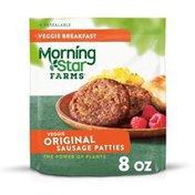 Morning Star Farms Veggie Breakfast Sausage Patties, Original, Vegetarian
