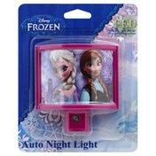 Disney Night Light, Auto, LED, Frozen