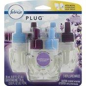 Febreze Scented Oil, Refill, Mediterranean Lavender, Plug