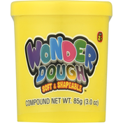 Ja-Ru Inc. Wonder Dough, Soft & Shapeable, 2+