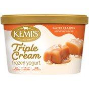 Kemps Triple Cream Salted Cramel Frozen Yogurt