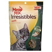 Meow Mix Treats for Cats, with Turkey, Soft