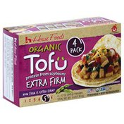 House Foods Tofu, Organic, Extra Firm, 4 Pack