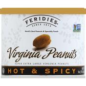 Feridies Peanuts, Virginia, Hot & Spicy