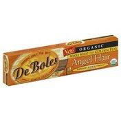 DeBoles Angel Hair, Whole Wheat Plus Golden Flax, Organic