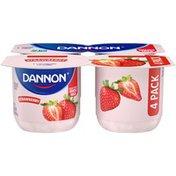 Dannon Whole Milk Strawberry Yogurt