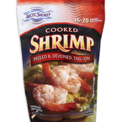 Arctic Shores Shrimp, Cooked, Peeled & Deveined, Tail-Off