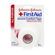 Johnson & Johnson First Aid All-Purpose  1in. Secure-Comfort Tape