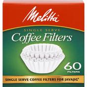 Melitta Coffee Filters, Single Serve