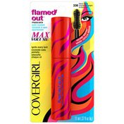 CoverGirl Flamed Out COVERGIRL Flamed Out Waterproof Mascara Black Blaze .37 oz Female Cosmetics