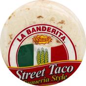 La Banderita Flour Tortillas, Street Taco, Taqueria Style