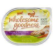 Meow Mix Cat Food, Chicken & Turkey Entree in a Savory Sauce