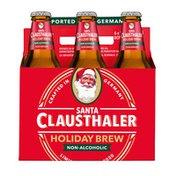 Clausthaler Santa Holiday Brew Non-Alcoholic