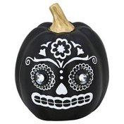 Hg Global Pumpkin, with Skull Face