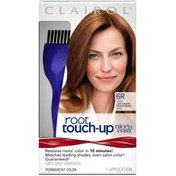 Clairol Nice N Easy Root Touch Up Permanent Hair Color 6R Light Auburn Reddish Brown, Female Hair Color