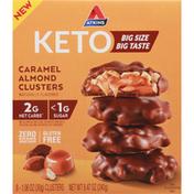 Atkins Clusters, Keto, Caramel Almond