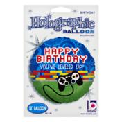 Betallic Holographic Balloon Happy Birthday