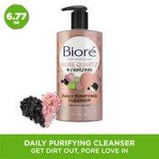 Bioré Rose Quartz & Charcoal Face Wash, Oil Free Face Cleanser, Dermatologist Tested, Cruelty Free