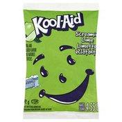 Kool-Aid Drink Mix, Sugar Sweetened, Screamin' Lime
