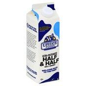 Upstate Farms Half & Half, Ultra-Pasteurized
