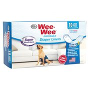 Four Paws Wee-Wee Super Disposable Diaper Liner Pads