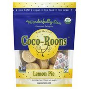Coco Roons Organic, Coco-Roons, Lemon Pie, Gourmet Delights, 8ct, Bag
