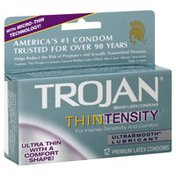 Trojan Premium Latex Condoms, UltraSmooth Lubricant