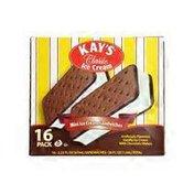 Kay's Classic Novelty Mini Ice Cream Sandwiches