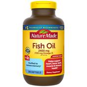 Nature Made Omega-3 from Fish Oil 720 mg + Vitamin D3 2000 IU (50 mcg) Softgels