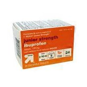 Up&Up Junior Strength Ibuprofen Pain Reliever/fever Reducer (nsaid) Chewable Tablets, 100 Mg, Orange Flavor
