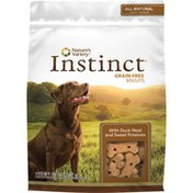 Instinct Grain-free Natural Oven-baked Biscuits Treats For Dogs