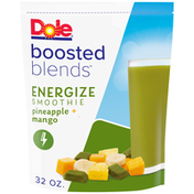 Dole Energize Pineapple + Mango Smoothie Frozen Fruit
