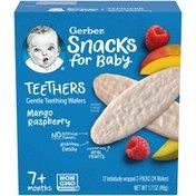 Gerber Snacks for Baby Mango Raspberry Teethers