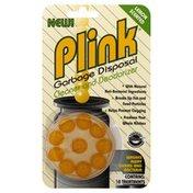 Plink Garbage Disposal Cleaner and Deodorizer, Lemon Scented