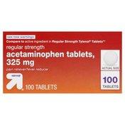 Up&Up Acetaminophen, Regular Strength, 325 mg, Tablets