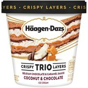 Haagen-Dazs Crispy Trio Layers Coconut & Chocolate Ice Cream