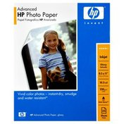 Hewlett Packard HP Photo Paper, Advanced, Glossy
