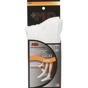 +md Socks, Diabetic, Ankle, Large, Unisex